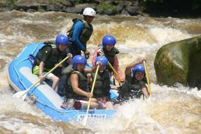 Padas White Water Rafting (Grade 3-4)